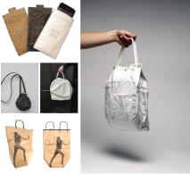 Design sustentável: as delicadas bolsas de papel