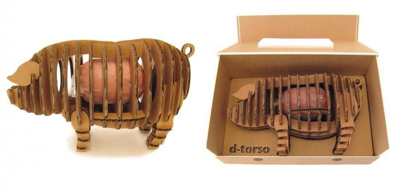 Design De Embalagem Para Carne Sacolas Personalizadas