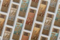 Design de embalagem para chocolate orgânico