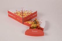 Embalagem criativa para Pizza