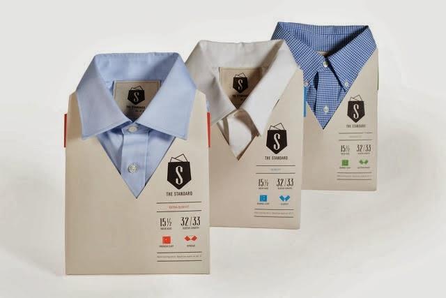 Embalagem inteligente para camisas